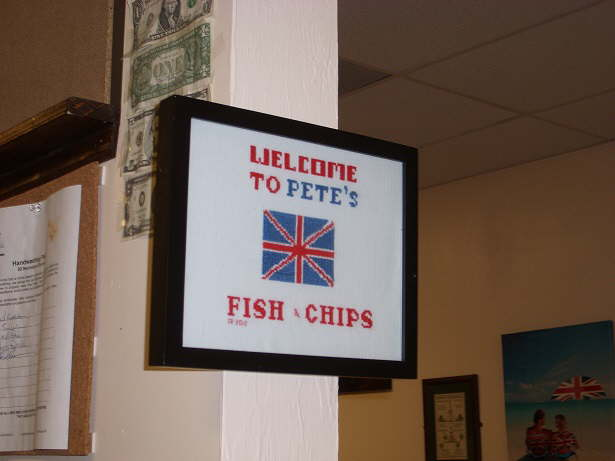 Pete 39 s for Petes fish and chips menu